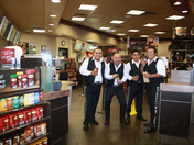 """Mexico de Noche"" Mariachi Band at Tim Hortons.!"