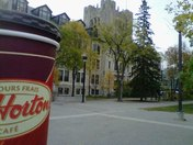 Tims makes an early morning on Campus so much better!