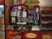 So excited to see Tim Hortons while in Ireland!