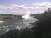 Niagara River and Canadian Horsehoe Falls
