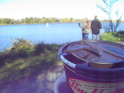 It isn't just a walk in the park with a hot chocolate from Tim Horton