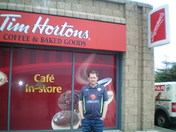 Ireland Tim Hortons