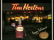 Trick or Treat: Always time for Tim Hortons!!!