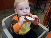 Morning Timmies, starting young.