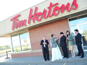 needed a timmies after the wedding