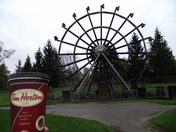 Largest running Water Wheel in North America