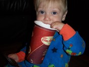 Teething with my Timmies