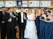 cant have a wedding without a timmies