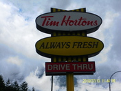 where the timmies? i HOPE there is one in this town!!!