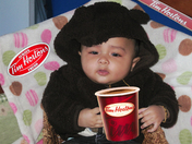 BABY WITH THE COFFEE