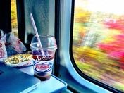 Trains, planes and Tim Hortons