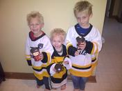 The Three Little Timbits :)