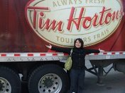 Always Fresh-Alway on the Road with Tim Hortons