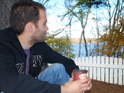 Enjoying a beautiful Fall day with Tim's