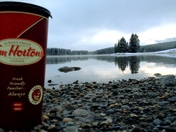 Nothin like enjoying natures beauty with the king of coffee.