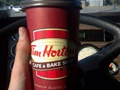 Canadian Trucker finds Timmies in NY State
