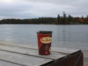 Coffee at the cottage