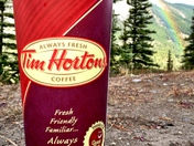 After every storm there is a Timmies....er..i mean rainbow...