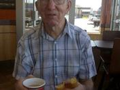 A trip to Timmies for Grandpa!!