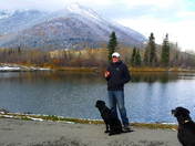 Tim's by the lake in Fernie, BC