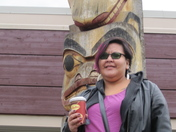 Smithers Secondary Totem pole with Timmy