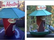 Tim Horton Fly Thru (bird feeder)