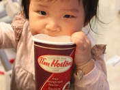 Baby want Tim Horton