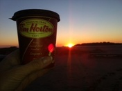 Tim's gets me to the sunset on time!