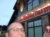 C'est la photo du TIm Hortons