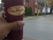 Tim's @ Streetsville ON just getting into my office