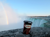 @ Falls enjoying coffee and view ♥