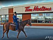 TIM HORTONS RIDE-THROUGH