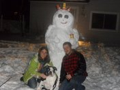 Timmie the snow man :)
