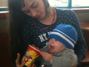 Little Johnny on a Timmy's date with Auntie