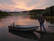 Morning Fishing with Tim's in the Yukon