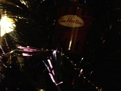 Christmas cheer, with Timmies