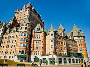 Hotel Frontenac in Old Quebec