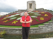 Standing by the Floral Clock