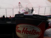 There's a Zamboni in my Timmy's!