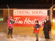 new Tim's coming 2 blocks from home can't wait