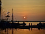 Sunrise At The Harbourfront