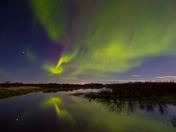 Northern Lights, Lesser Slave Lake, Alberta