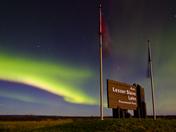 Northern Lights, Lesser Slave Lake, Alberta