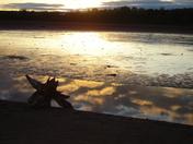 Sunset o Avon River