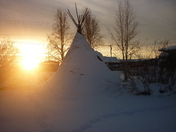 Teepee in the Sun! -