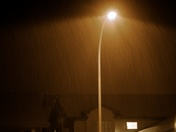 Lamp Light Rain -