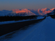 Sunrise Over Kluane National Park -