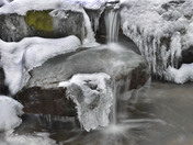 Winter Creek cascade