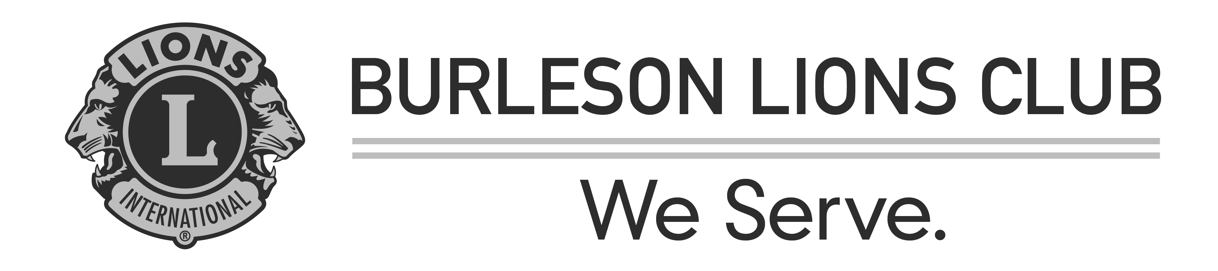 Burleson Lions Club Logo