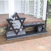 Star of David Bench